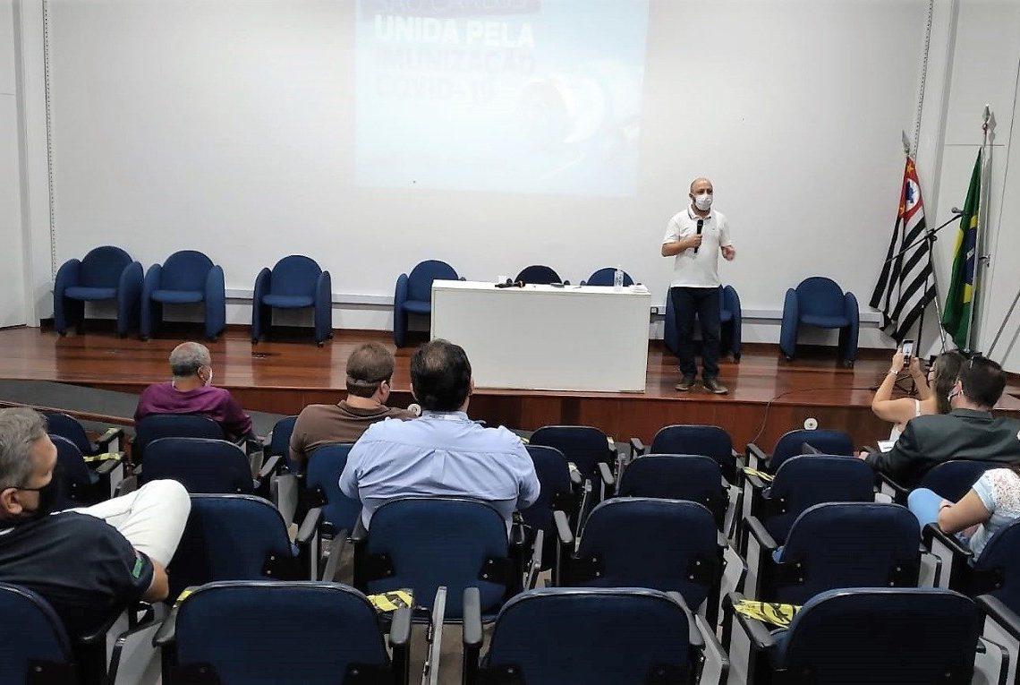 COMITÊ EMERGENCIAL DE COMBATE AO CORONAVÍRUS SE REÚNE COM SOCIEDADE CIVIL ORGANIZADA